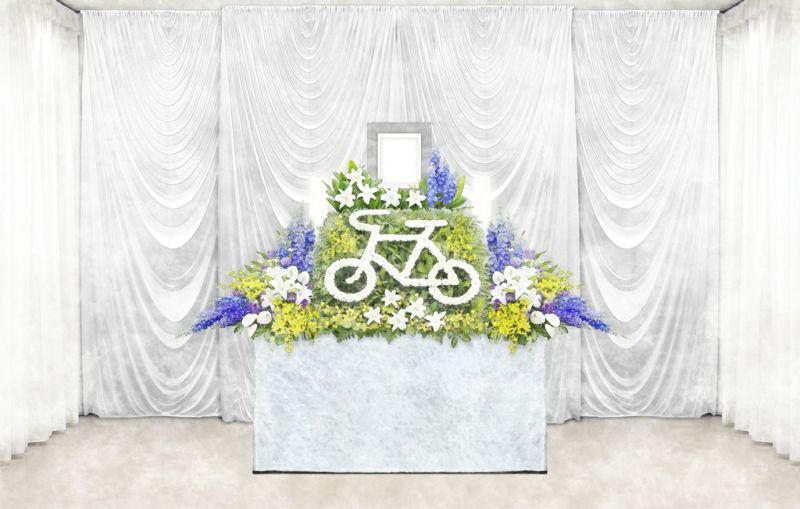 自転車 シンプル